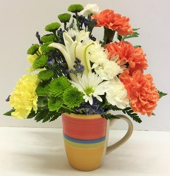 Admin Prof Day mug arrg-APD-1801 from Krupp Florist, your local Belleville flower shop