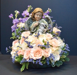 Angel in the garden angel15-16 from Krupp Florist, your local Belleville flower shop