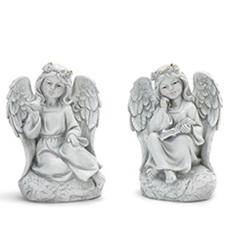Sitting angels-Angel17-1 from Krupp Florist, your local Belleville flower shop