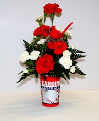 CARDINAL CUP from Krupp Florist, your local Belleville flower shop