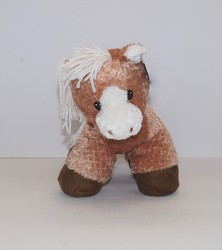 Dallas the pony plush17-1 from Krupp Florist, your local Belleville flower shop