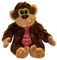 Jumbo George plush17-3 from Krupp Florist, your local Belleville flower shop