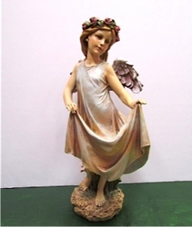 Angel with Skirt Bird Feeder-SS-73 from Krupp Florist, your local Belleville flower shop
