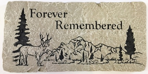 Forever Remembered bench-bench18-04 from Krupp Florist, your local Belleville flower shop