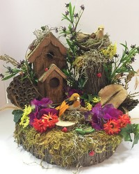 Birdhouse birdhs-01  from Krupp Florist, your local Belleville flower shop