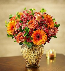 In love with Fall bouquet-blm145604 from Krupp Florist, your local Belleville flower shop