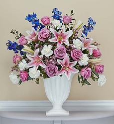 Soothing Memories-blm147302 from Krupp Florist, your local Belleville flower shop
