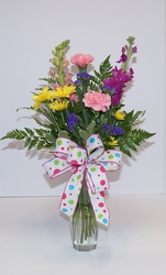 Cheery day arrangement-fresh15-6 from Krupp Florist, your local Belleville flower shop