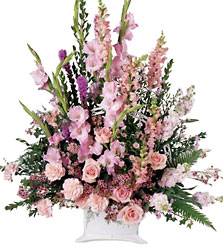 FTD Peaceful Memories Arrangement from Krupp Florist, your local Belleville flower shop