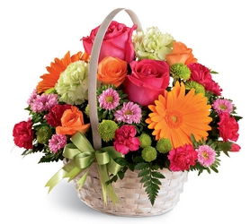 Summer in the Park Basket from Krupp Florist, your local Belleville flower shop