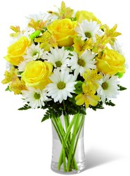 The FTD Sunny Sentiments Bouquet from Krupp Florist, your local Belleville flower shop