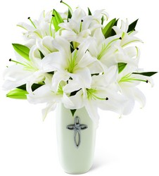 FTD Faithful Blessings Bouquet from Krupp Florist, your local Belleville flower shop