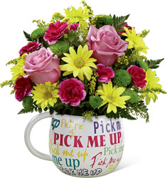 The FTD Pick-Me-Up Bouquet from Krupp Florist, your local Belleville flower shop