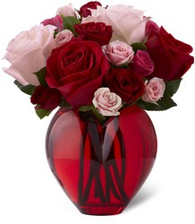 The FTD My Heart to Yours Rose Bouquet