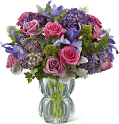 The FTD Lavender Luxe Luxury Bouquet from Krupp Florist, your local Belleville flower shop