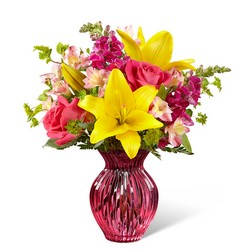 The FTD Happy Spring Bouquet from Krupp Florist, your local Belleville flower shop