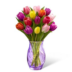 The FTD Spring Tulip Bouquet by Better Homes and Gardens from Krupp Florist, your local Belleville flower shop