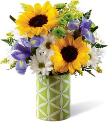 The FTD Sunflower Sweetness Bouquet from Krupp Florist, your local Belleville flower shop