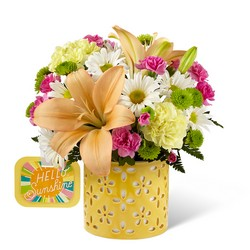 The FTD Brighter Than Bright Bouquet by Hallmark from Krupp Florist, your local Belleville flower shop