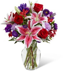 The FTD Stunning Beauty Bouquet from Krupp Florist, your local Belleville flower shop