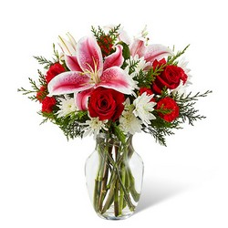 The FTD Frosted Findings Bouquet from Krupp Florist, your local Belleville flower shop