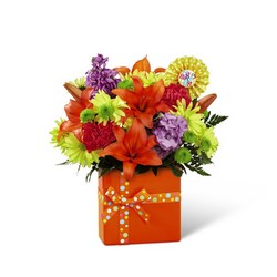 The FTD Set to Celebrate Birthday Bouquet from Krupp Florist, your local Belleville flower shop