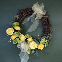 Krupp sunshine wreath hd15-7 from Krupp Florist, your local Belleville flower shop