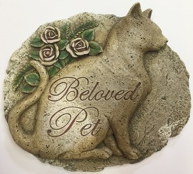 Beloved pet resin plaque pet-beloved from Krupp Florist, your local Belleville flower shop