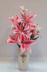Krupp silk faithful blessings-silk16-12 from Krupp Florist, your local Belleville flower shop
