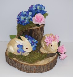 Bunnies and silks-silks16-15 from Krupp Florist, your local Belleville flower shop