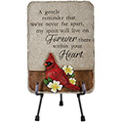 Cardinal plaque ss-12715  from Krupp Florist, your local Belleville flower shop