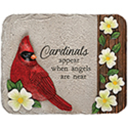 Cardinal plaque ss-12717 from Krupp Florist, your local Belleville flower shop