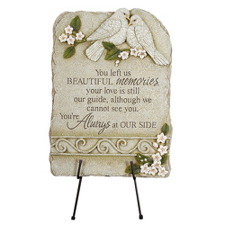Memories plaque ss-63464 from Krupp Florist, your local Belleville flower shop