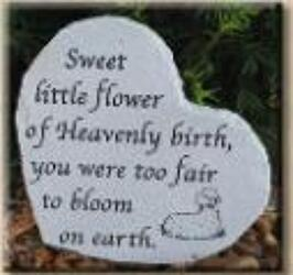 Sweet Little Flower stone-small ss-g313 from Krupp Florist, your local Belleville flower shop