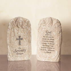 The serenity prayer angel plaque ss15s-23 from Krupp Florist, your local Belleville flower shop