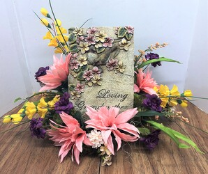 Loving Grandmother resin plaque-stylized ssgma-sty from Krupp Florist, your local Belleville flower shop