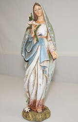 Mary statue ss91-13 from Krupp Florist, your local Belleville flower shop