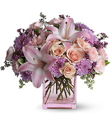 Teleflora Possibly Pink from Krupp Florist, your local Belleville flower shop