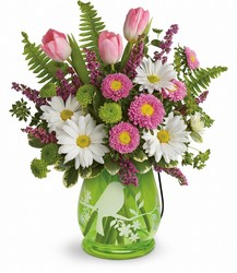 Teleflora Songs Of Spring Bouquet from Krupp Florist, your local Belleville flower shop