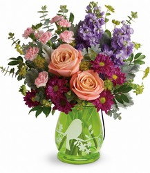 Teleflora's Soaring Spring Bouquet from Krupp Florist, your local Belleville flower shop