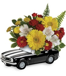 '67 Chevy Camaro Bouquet from Krupp Florist, your local Belleville flower shop