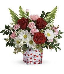 Teleflora's Pop Hearts Bouquet from Krupp Florist, your local Belleville flower shop