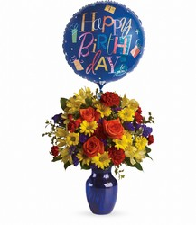 Fly Away Birthday Bouquet from Krupp Florist, your local Belleville flower shop