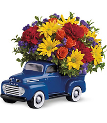 Teleflora '48 Ford Pickup Bouquet from Krupp Florist, your local Belleville flower shop