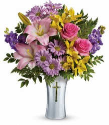 Teleflora's Bright Life Bouquet from Krupp Florist, your local Belleville flower shop
