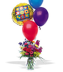 Balloons and a Boost from Krupp Florist, your local Belleville flower shop