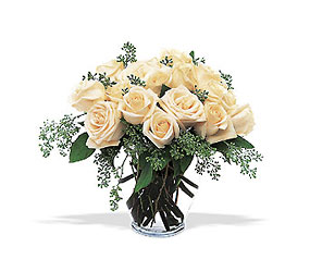 White Roses from Krupp Florist, your local Belleville flower shop