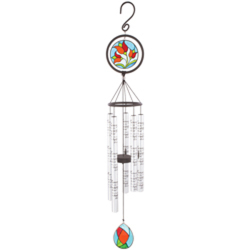"In Memory 35"" Stained Glass Sonnet Chime wc-60377 from Krupp Florist, your local Belleville flower shop"